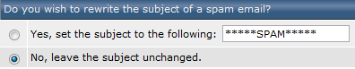 SpamAssassin - onderwerp spam veranderen?
